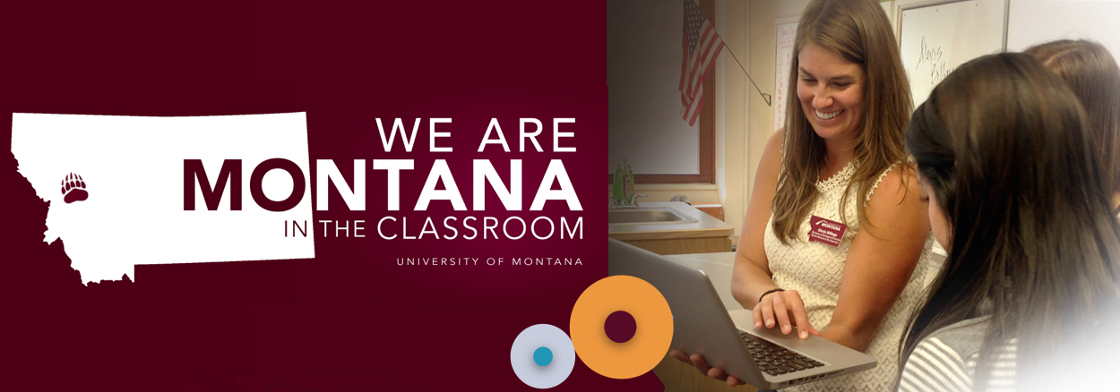 We Are Montana in the Classroom Logo