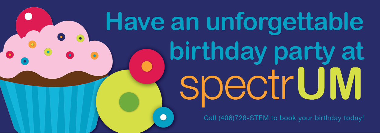 Have an unforgettable birthday party at spectrUM
