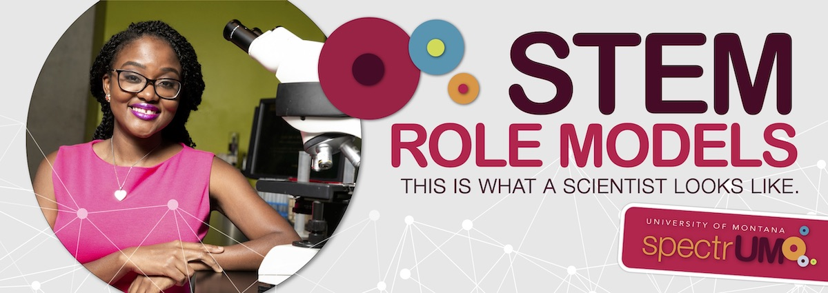Meet spectrUM's favorite STEM role models. This is what a scientist looks like.